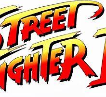 Street Fighter 2 logo by nightkid83