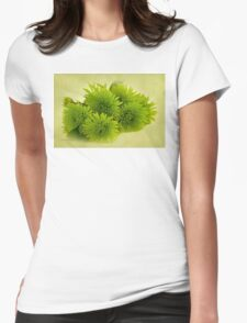 Green Spider Chrysanthemums T-Shirt