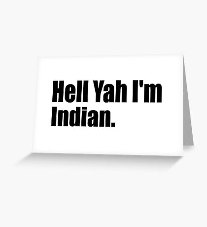 Indian Greeting Card