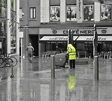 A Rainy day in Belfast by Martina Fagan