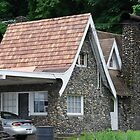 Stone Cottage on Rainier Avenue by Marjorie Wallace
