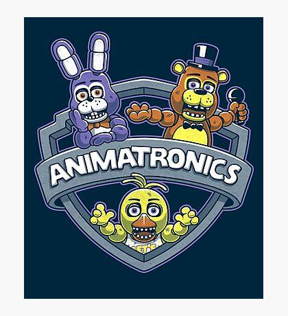 Animatronics Photographic Print