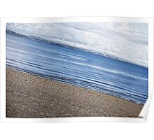 Sloping Seascape  Poster
