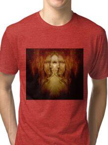HEMISPHERES Tri-blend T-Shirt