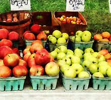 Apples at Farmer's Market by Susan Savad