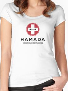 Hamada Healthcare Companions Women's Fitted Scoop T-Shirt