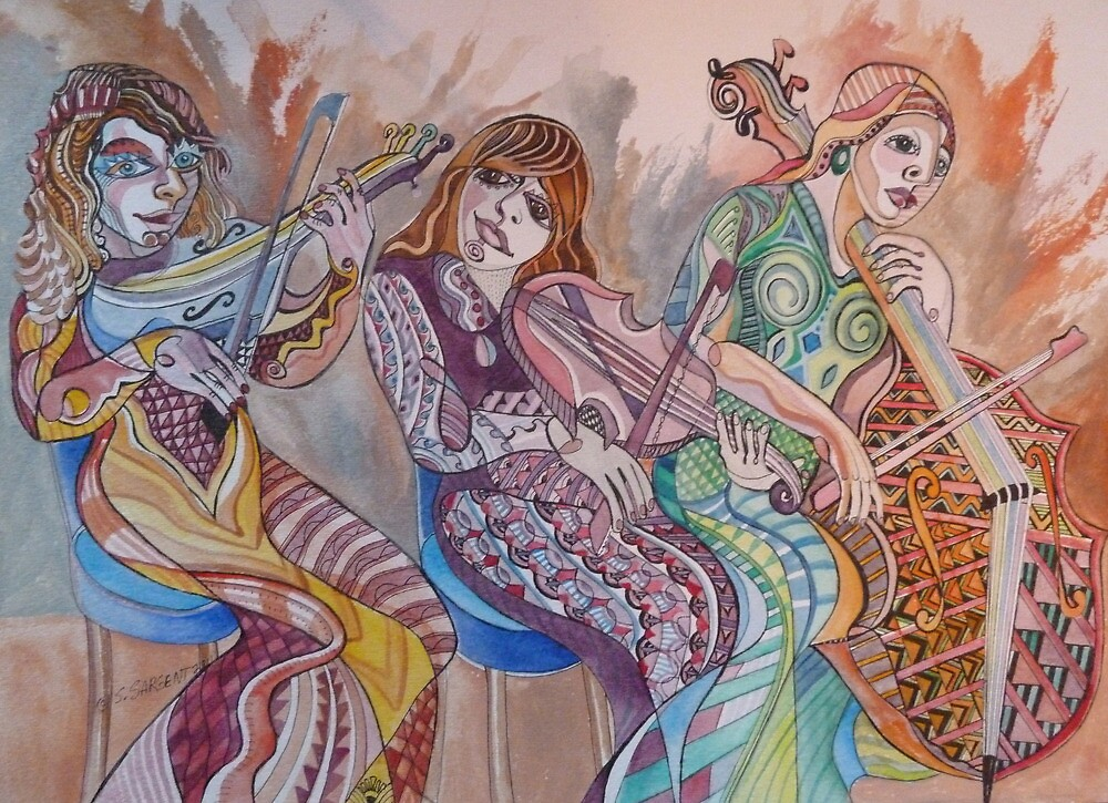 String Trio by Sally Sargent