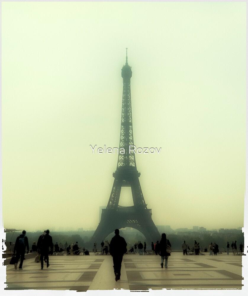 Eiffel Tower. Misty morning. by Yelena Rozov