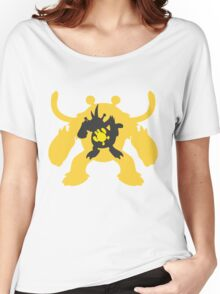 PKMN Silhouette - Electabuzz Family Women's Relaxed Fit T-Shirt