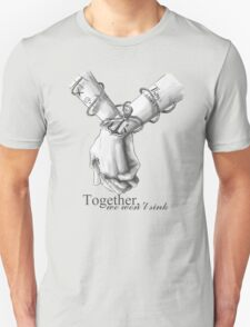 Together We Won't Sink - Larry Stylinson T-Shirt