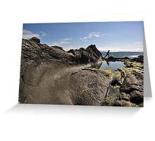 Wave Rock Greeting Card