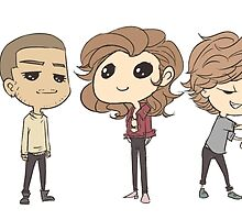 Chibi One Direction by Aki-anyway