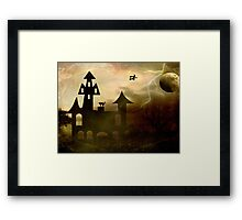 Moon Flight © Framed Print