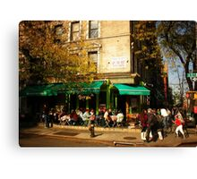 Autumn in Alphabet City Canvas Print
