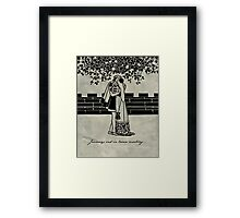 Twelfth Night - William Shakespeare Framed Print