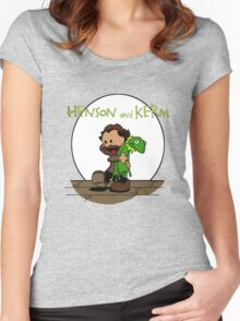 Imagination Mash-up Women's Fitted Scoop T-Shirt