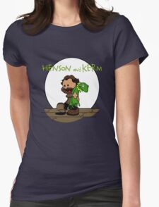 Imagination Mash-up Womens Fitted T-Shirt