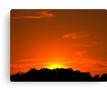 Townsend Sunset Canvas Print