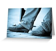 What does he think about?:On Featured Work;Nikon-dslr-users-group Group Greeting Card