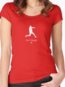 Air Klopp Women's Fitted Scoop T-Shirt