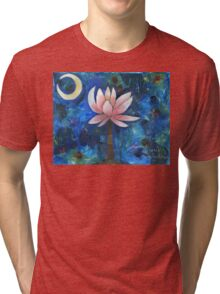No Mud, No Lotus Tri-blend T-Shirt