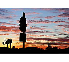 Freeway dawn Photographic Print