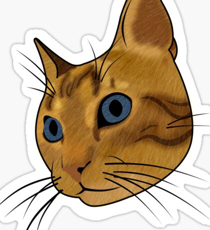 Cat (Hubert) Sticker