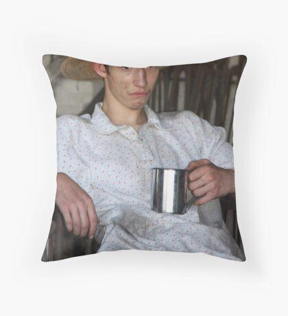 Bored? Throw Pillow