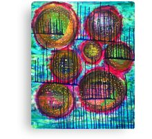 Floating on Ecstasy : Inner Power Painting Canvas Print