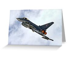 Eurofighter Typhoon EF-2000 F.2 Greeting Card