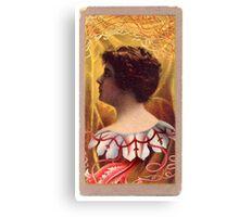 Lovecraft Lady Canvas Print