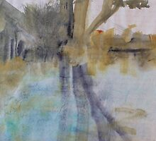 Calm pond by Catrin Stahl-Szarka