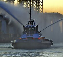 Fireboat by Savannah Gibbs
