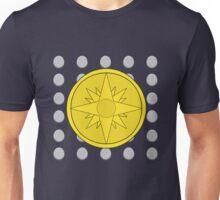Phantom Stranger Emblem with Silver Coins Unisex T-Shirt
