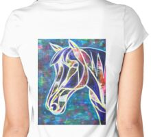Embody the Vision: Inner Power Painting Women's Fitted Scoop T-Shirt