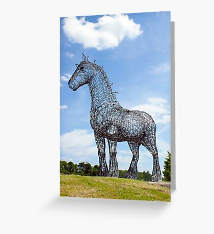 Heavy Horse Greeting Card