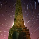 Scarborough Startrails by Paul McGuire
