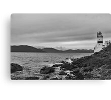 Cloch Lighthouse Canvas Print