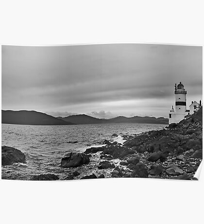 Cloch Lighthouse Poster
