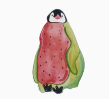 Watermelon Penguin Baby Tee