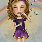 Bubble blower by Kristy Spring-Brown