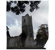 Ruins of Killowen Church, Kenmare Poster