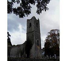Ruins of Killowen Church, Kenmare Photographic Print