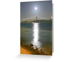 Moonlight. Greeting Card