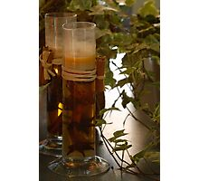 Candles & Ivy Photographic Print