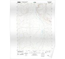 USGS Topo Map Oregon G I Ranch 20110829 TM Poster