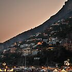 After sunset Amalfi Italy by Eros Fiacconi (Sooboy)