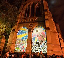 0340 Melbourne - White Night 14 by DavidsArt