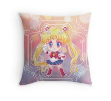 Chibi Sailor Moon Crystal Throw Pillow