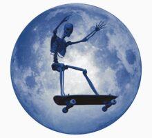Skateboarding skeleton One Piece - Long Sleeve